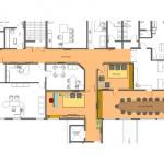 Planta geral da área de intervenção do projeto