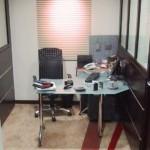 Detalhe da estação da Secretaria para atendimento da Diretoria e Financeiro