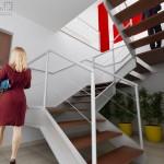 Projeto do novo acesso ao escritório