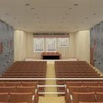 Vista do Mezanino do Auditório