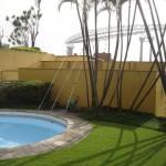 Situação Atual. Vista da piscina