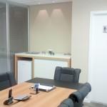 Vista oposta da sala de reuniões