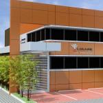3ª proposta de fachada. Proposta aprovada