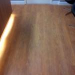 Detalhe do piso vinílico