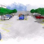Estudo para o novo estacionamento