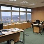 Vista da Sala das Secretárias