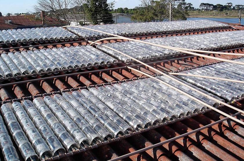aquecedor solar garrafa pet